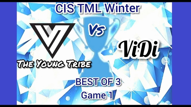 CIS TML Winter 2019 - TYT Vs VIDI - Game 1