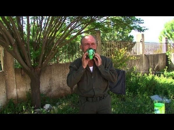 Syrie: des masques à gaz faits maison, en cas d'attaque chimique