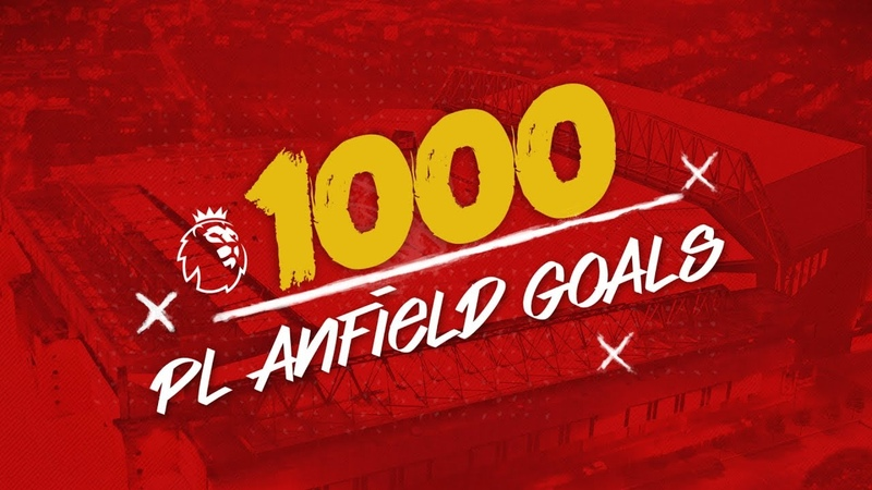 1000 Premier League Goals at Anfield | Some of our favourite strikes