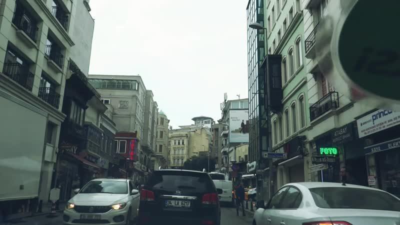 Стамбул дорога в старом городе