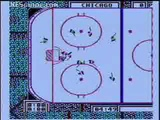 Wayne Gretzky hockey NES gameplay