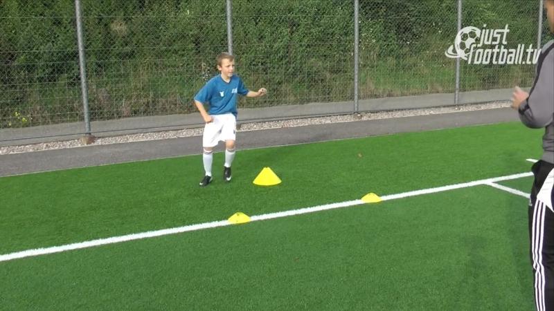 Fussballtraining_ Hohe Zuspiele Teil 2 - Ballkontrolle - Technik