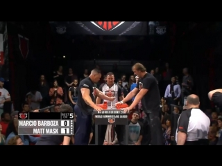 MAT MASK vs. Marcio Barboza / SHOCK FIGHT / WAL 2018 series 402