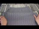 Юбка Тунисский обычный крючок Вязание