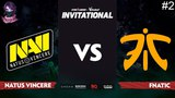 NaVi vs Fnatic RU #2 (bo3) SL i-League Invitational S5 Minor 14.04.2018