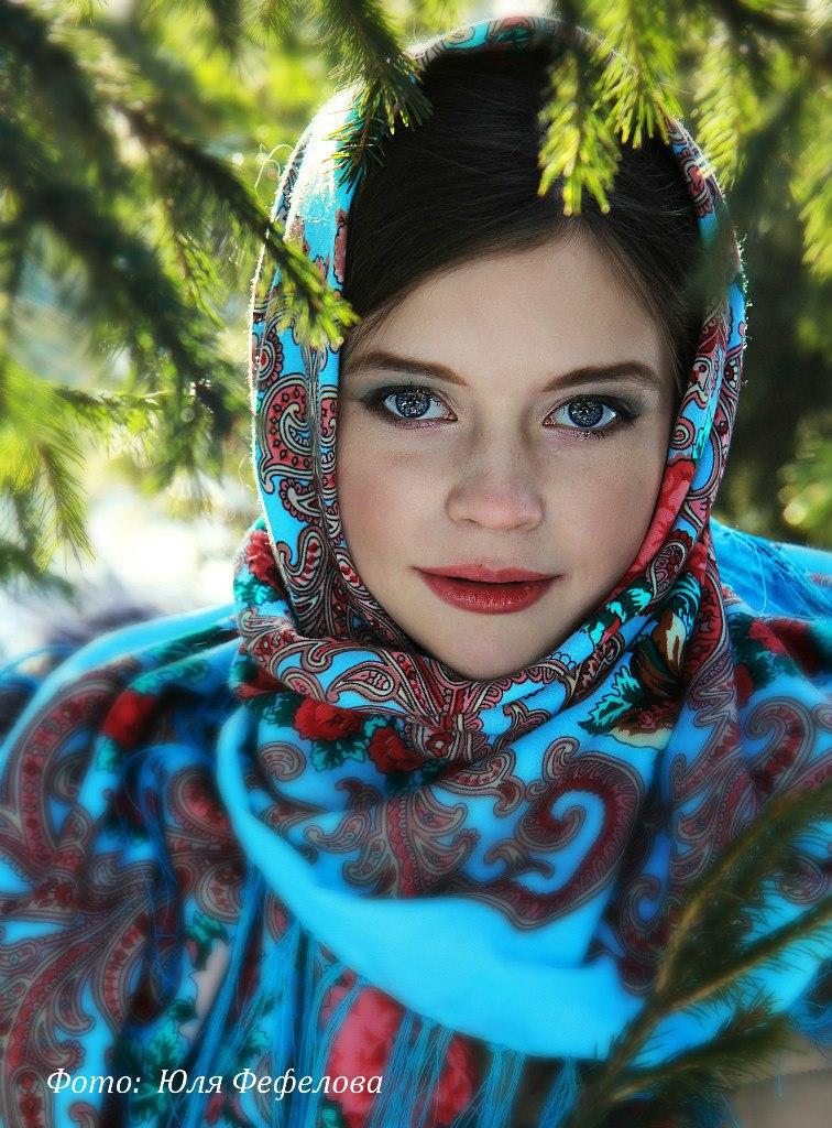 """Афиша Новосибирск Фотопроект """" Русская красавица """""""