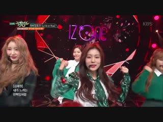 뮤직뱅크 Music Bank - 라비앙로즈(La Vie en Rose) - IZ ONE (아이즈원).20181109