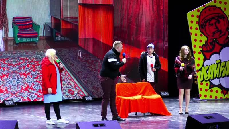 Сборная Арктики - Музыкальный номер (КВН Лига Поволжье 2018. Третья 1/8 финала)