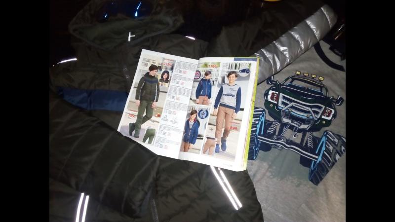 Куртка с декоративными очками для мальчика / Футболка с длинными рукавами / Фаберлик