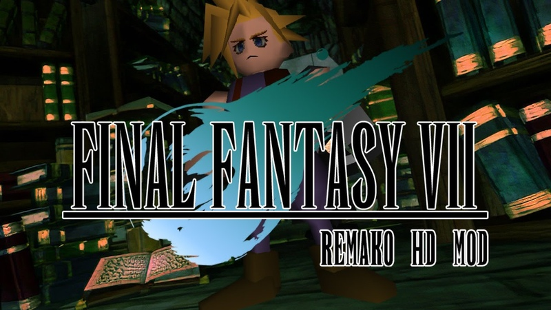 Final Fantasy VII Remako HD Graphics Mod - v1.0 Release Trailer
