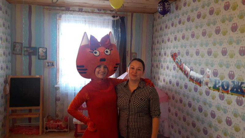 Отзыв о Карамельке Три Кота . От 14.04.2018. День Рождения Эмилии.