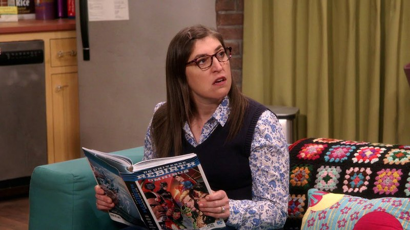 The Big Bang Theory - Learning About Comic Books (S11E21)