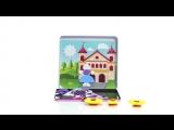 Magneticus MC-001 - Магнитная мозаика Замок принцессы. Magnetic Mosaic Princess