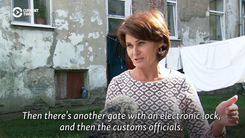 Borderline Problem Kaliningrad Flats Behind Barbed Wire