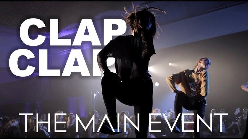 Clap Clap - Cliq | The Main Event | Brian Friedman Experience feat The Entourage