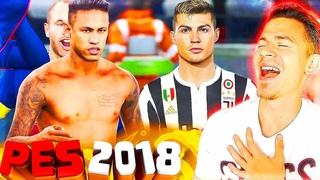 ПЕРВЫЙ РАЗ ИГРАЮ в PES 2018 myClub | МОЯ ПЕРВАЯ КОМАНДА Pro Evolution Soccer 18