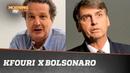 JUCA KFOURI x JAIR BOLSONARO