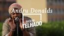 Andru Donalds toca Save me now no telhado do Globo, no Rio de Janeiro