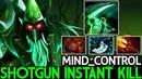 Mind ControL Necrophos Imba Shotgun Instant Kill WTF Gameplay 7 19 Dota 2