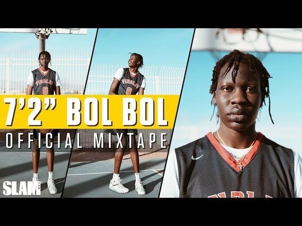 7'2 Bol Bol is a CHEAT CODE! Official Senior Mixtape 💯