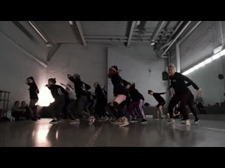 Workshop by zidan xqlusiv in moscow // badman moves // feat. drum di fire