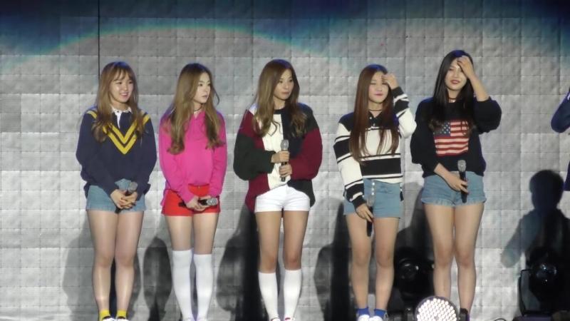 151004 Red Velvet @ Gangnam K-pop Festival Fancam