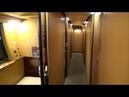 サンライズ出雲1階B寝台シングル個室で東京から出雲市までSleeper train Sunrise Izumo