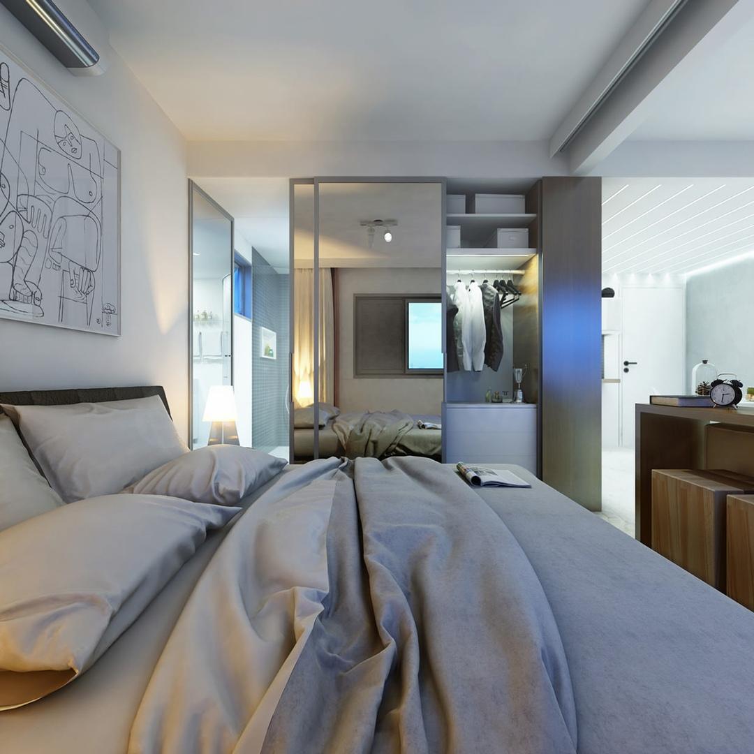 Интерьер квартиры-студии 30 кв.
