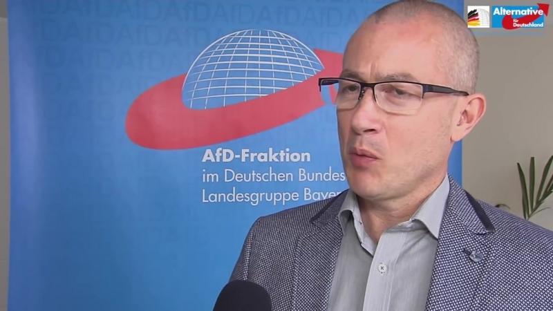 -Bevölkerungsaustausch stoppen-- - Hansjörg Müller - AfD-Landesgruppe Bayern