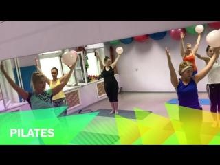 Pilates в зале на ул.Кирпичной