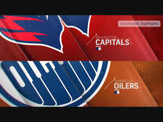 Washington Capitals vs Edmonton Oilers Oct 25, 2018 HIGHLIGHTS HD