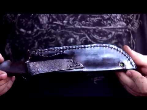 Простые ножны из кожи