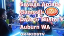 Dave and Busters Arcade Jackpot at Auburn Mall ok4kidstv video 82