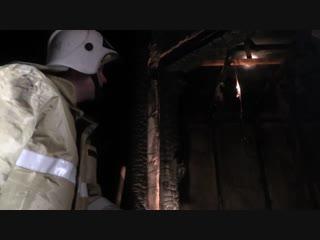 Огнеборцы при пожаре в курганской гостинице спасли 5 человек