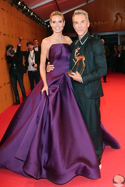"""Любимый дизайнер Хайди Клум: """"Она беременна! Мне сказал Том"""""""