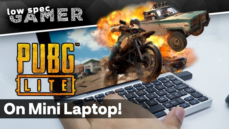 PUBG on an Intel ATOM Laptop The magic of PUBG Lite PC!