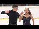 Campanini Sara/Riva Francesco Италия | ISU ЮГП 2018 Линц | Произвольный танец (танцы на льду)