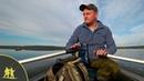 Рыбалка с лодки на озере на бортовую удочку Уловистая бортовая удочка