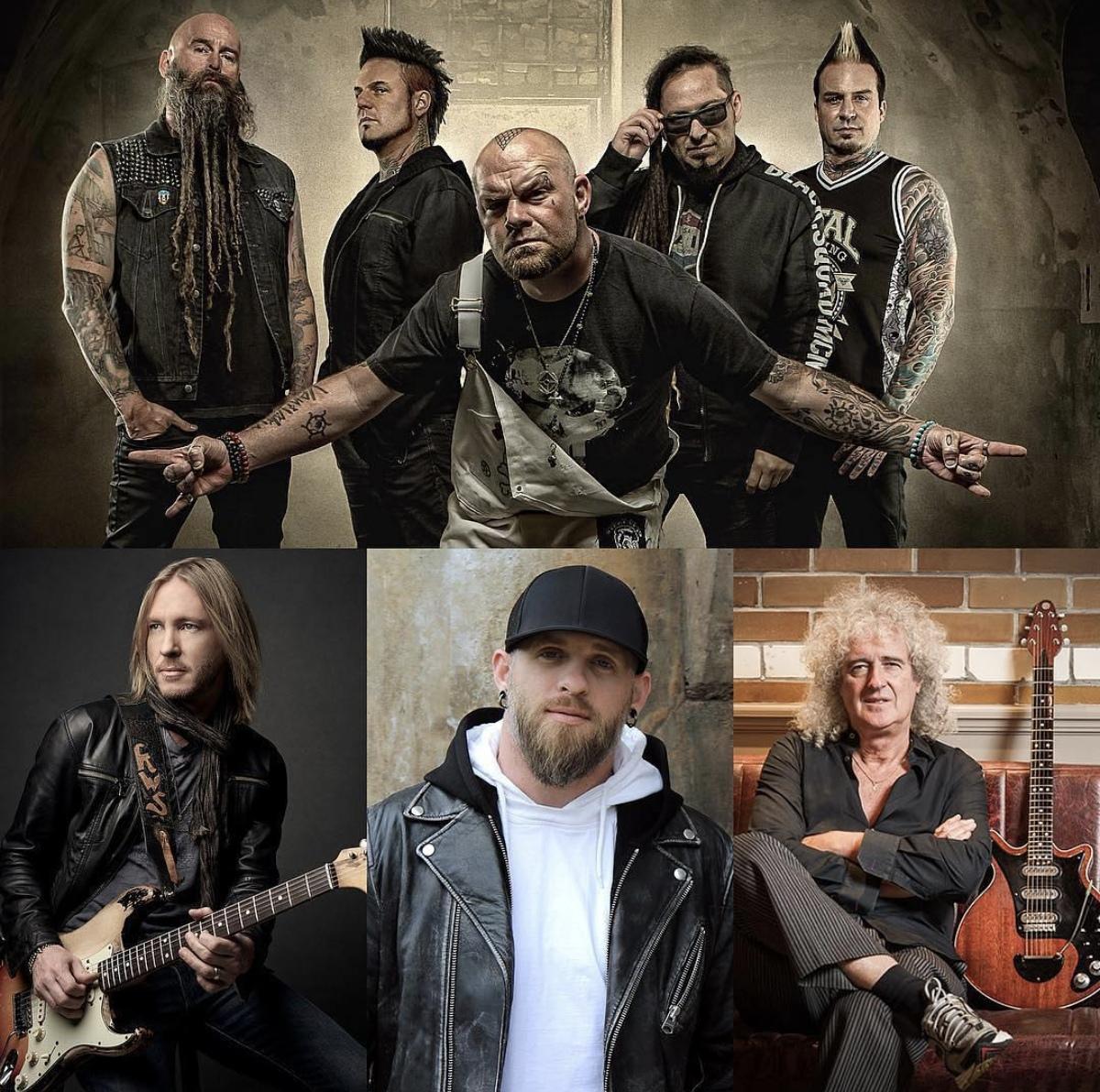 Five Finger Death Punch записали песню совместно с Брайаном Мэем, Брэнтли Гилбертом и Кенни Шеппардом