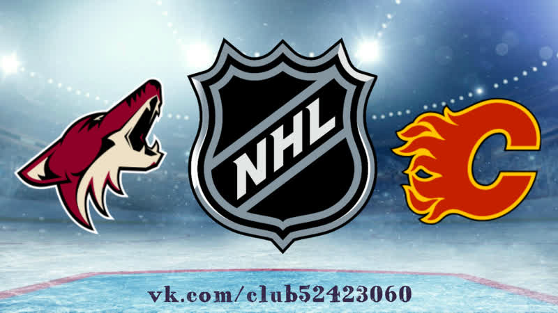 Arizona Coyotes vs Calgary Flames 13 01 2019 NHL Regular Season 2018 2019