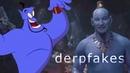 Deepfakes   Robin Williams as The Genie