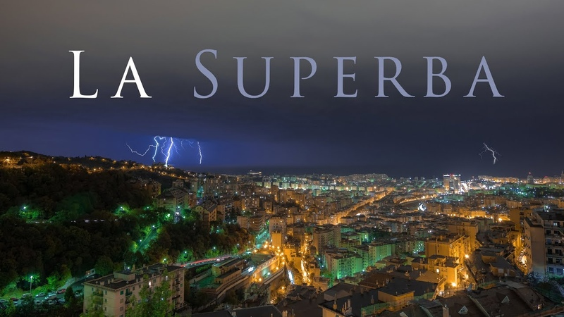 La Superba - Genova flow motion in 4k