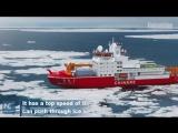 Первый китайский полярный ледокол будет достроен в 2019 году!