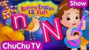 ChuChu TV Learning English Is Fun™ | Alphabet N Song | Phonics Words For Preschool Children