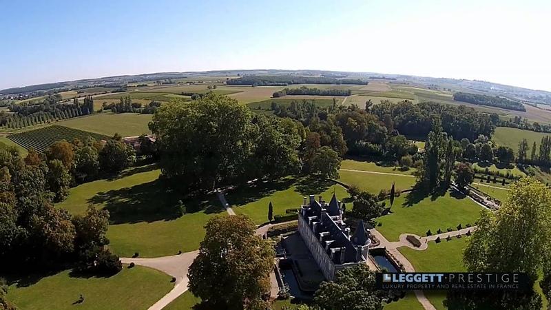 Cognac Castle for sale reference 26331TS16 LEGGETT immobilier