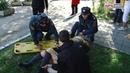 Спасатели работают на месте теракта в Керченском политехническом колледже