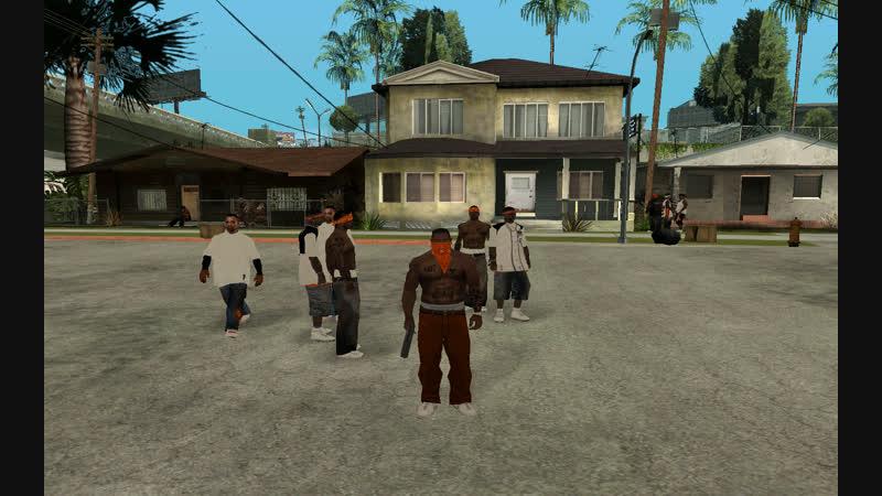 банда 107 Hoover Criminal Gang в гта сан андреас