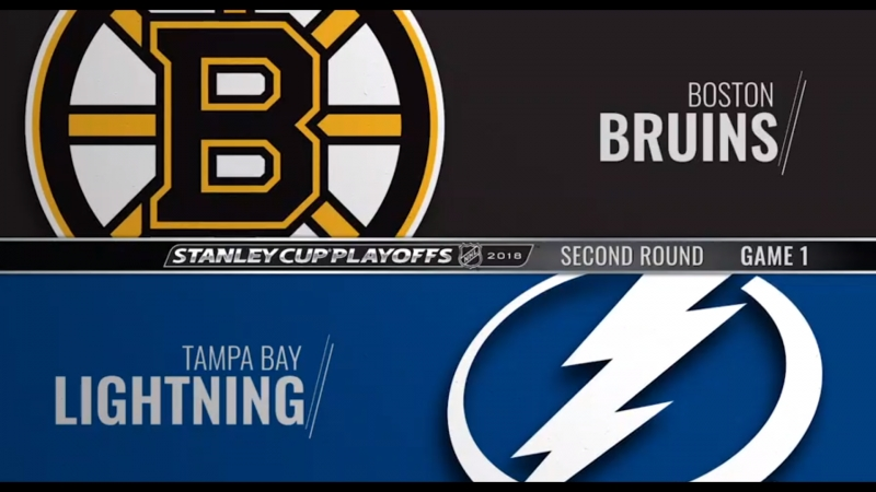 Stanley Cup Playoffs 2018 EC R2 Game 1 Boston Bruins-Tampa Bay Lightning