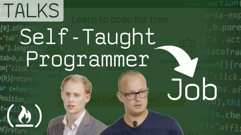 From Self-Taught Programmer to Job