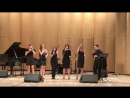 """Words"" ""Jazz Voices"" Gnesin-jazz voices 2018 - YouTube"